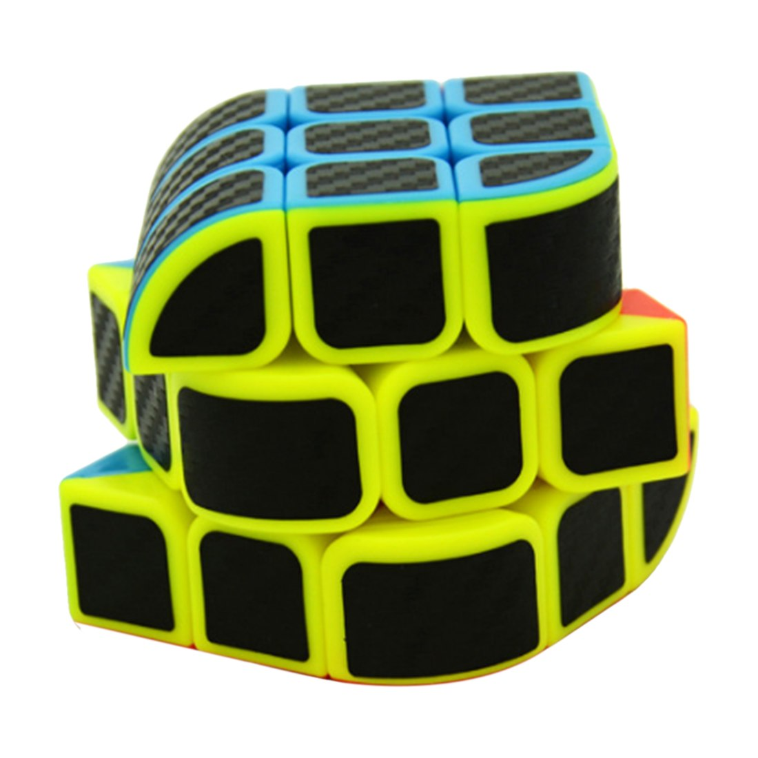 Lefang-Trihedron-Magic-Cube-Puzzle-Toy-with-Carbon-Fiber-Sticker-for-Competition-Challenge-Colorful (2)